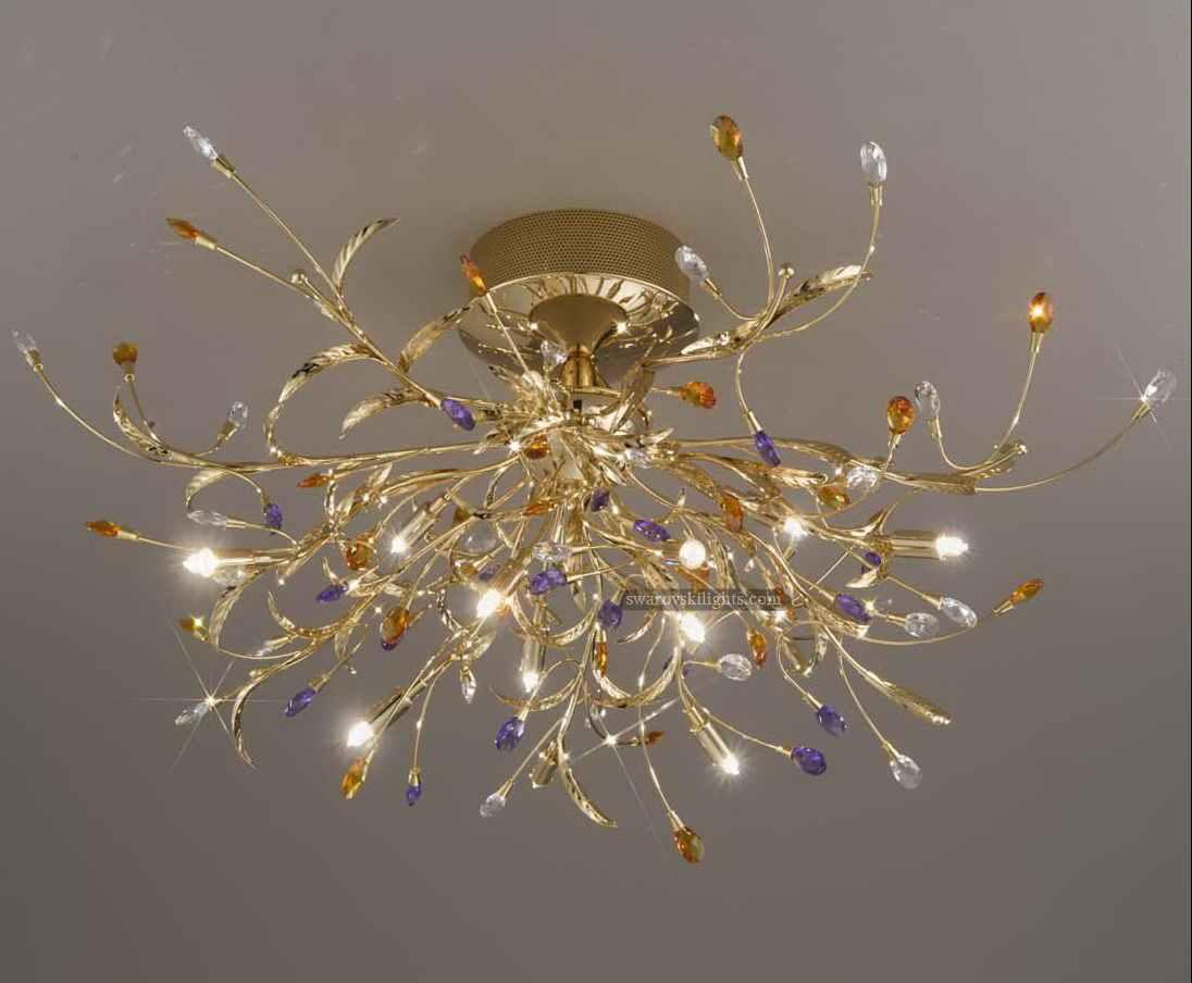 Semi flush ceiling lightshongkong sunwe lighting coltdwe model399311 arubaitofo Image collections